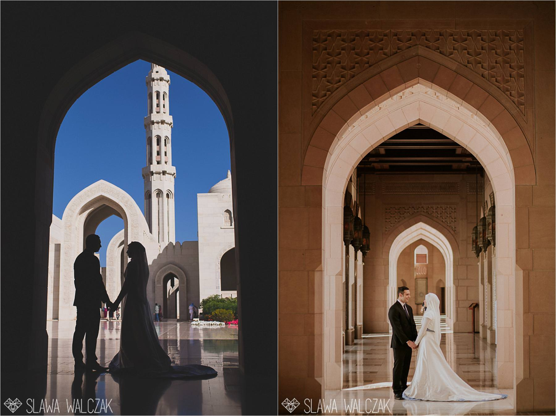 wedding photos from Grand Mosque in Muscat Oman