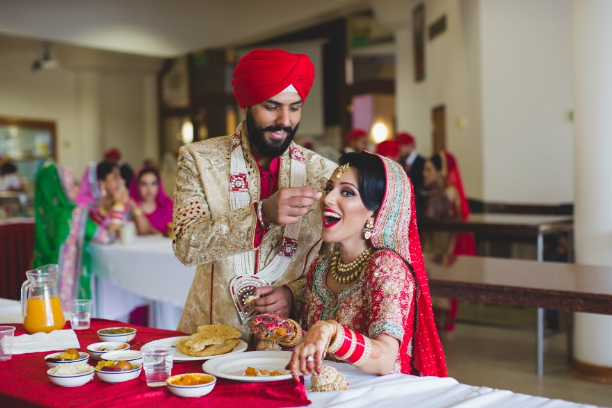 sikh wedding at Havelock Road Gurdwara