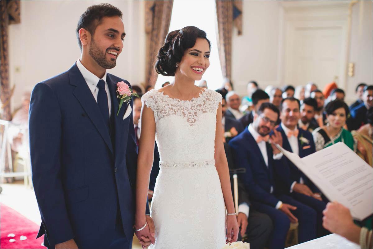 Civil Wedding Photography: Sikh Civil Wedding Brooksby Hall
