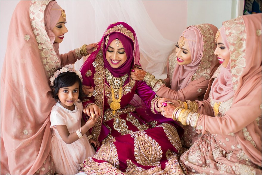 Female Muslim Wedding Photographer London 0002