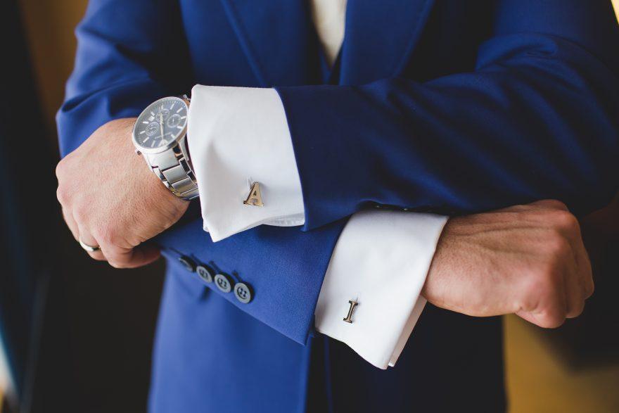 grooms personalised cufflinks