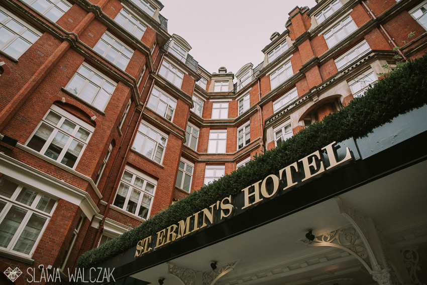 Westminster Cathedral Amp St Ermin S Hotel London Wedding