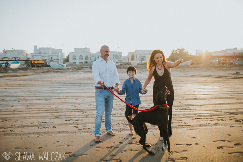 Seeb Beach Fun Family Photo Session Muscat Oman