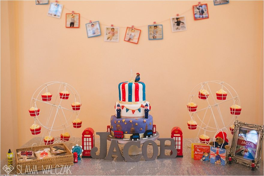 London themed kids birthday party