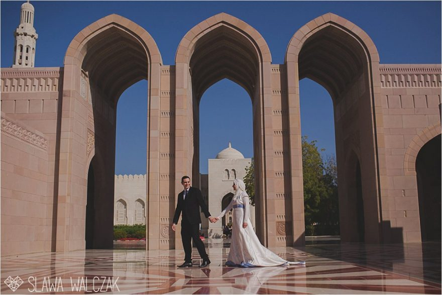 wedding anniversary photo shoot from grand mosque muscat oman