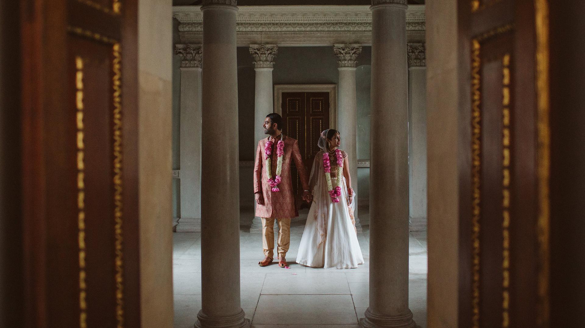 female Asian wedding photographer London Destination