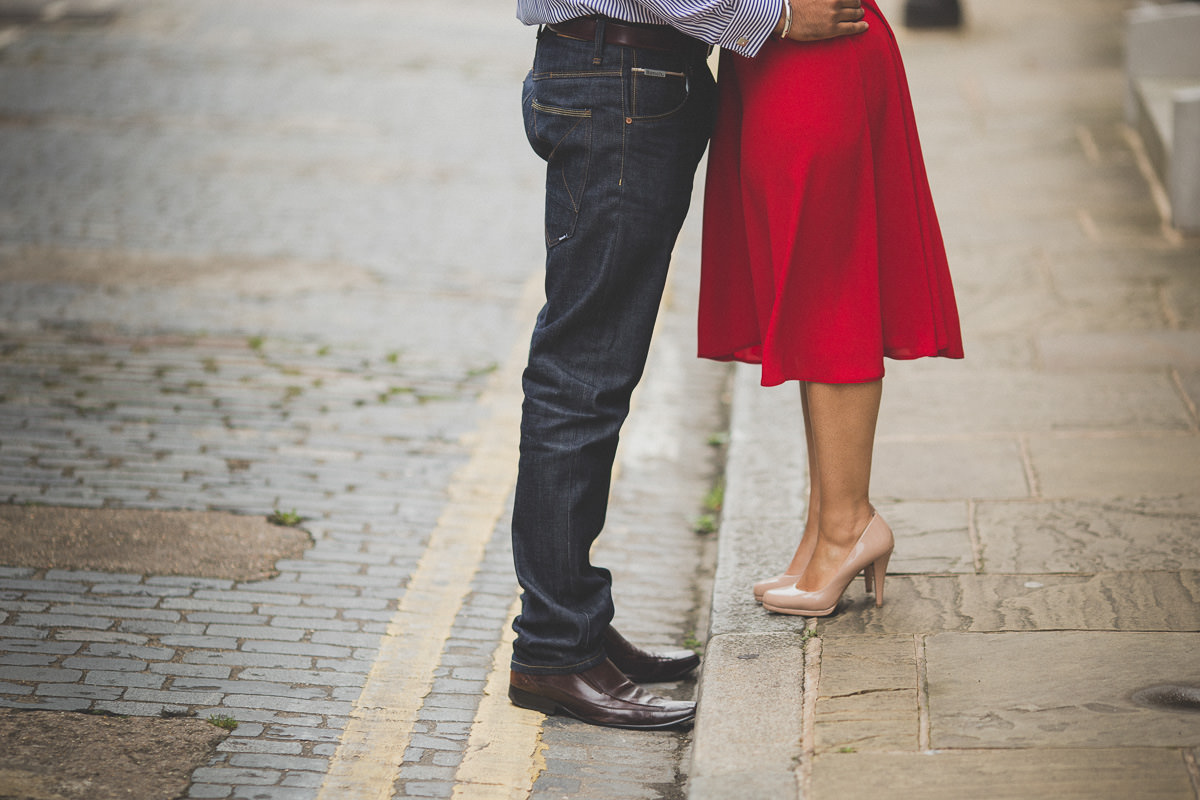 creative south asian engagement photography in London