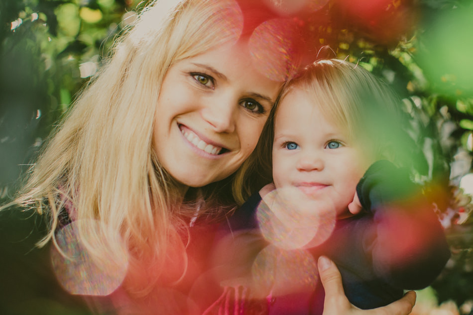 portrait of a mather and daughter during family photgraphy session in chelsea London
