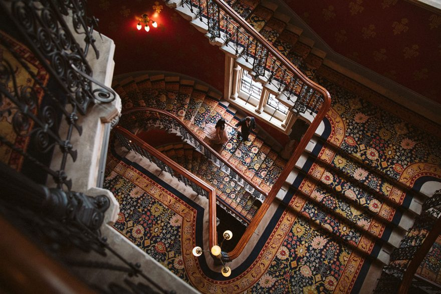 Wedding photos from St Pancrass Renaissance Hotel in London