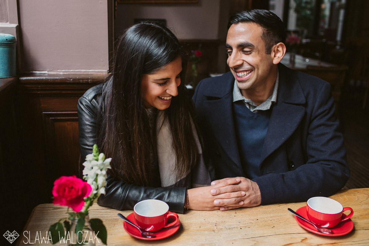 indian engagement session in London