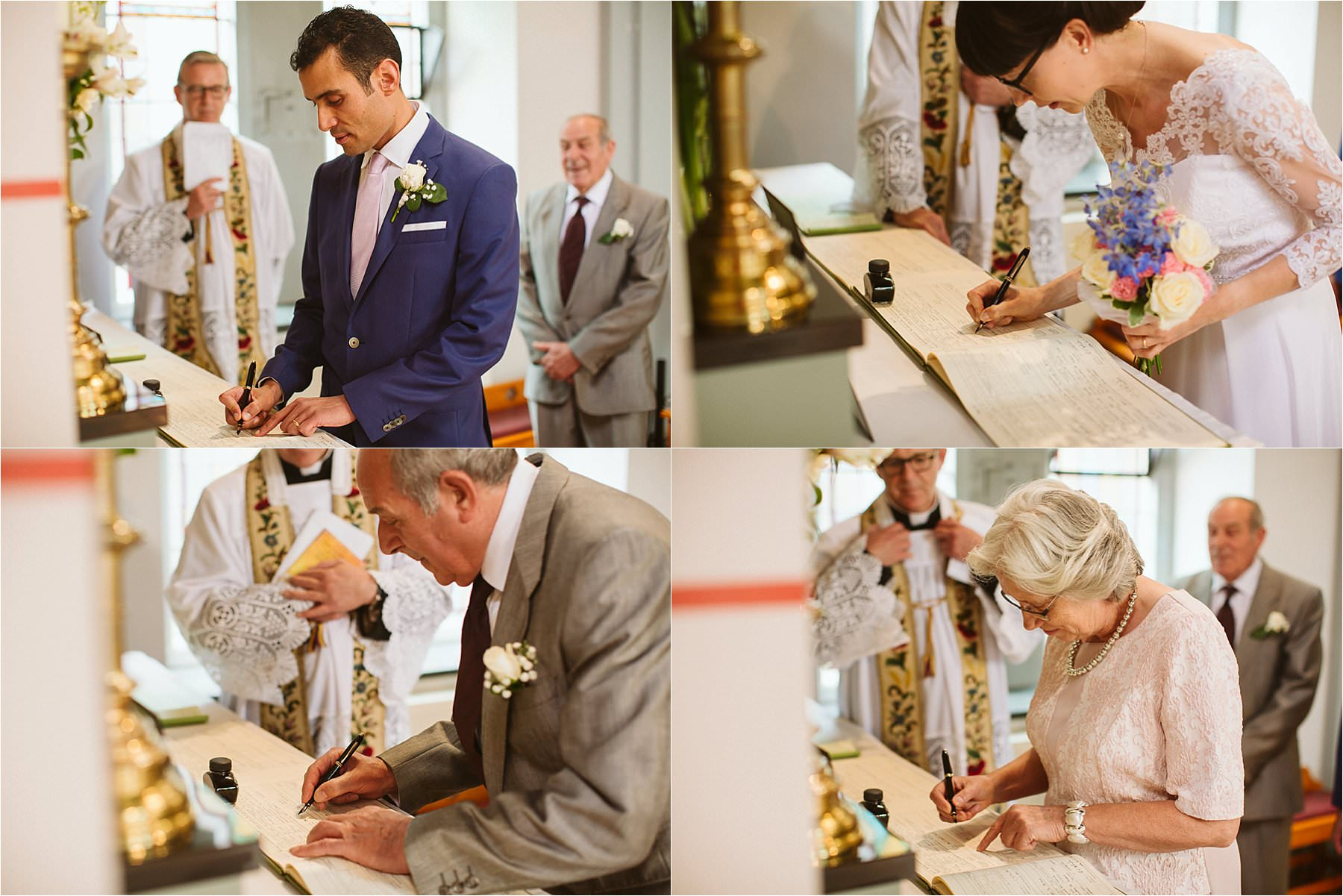 london wedding at Kensal Rise church