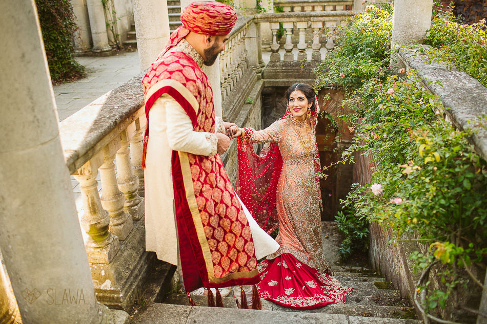 The Hill Garden & Hampstead Heath Pergola Wedding Photoshoot