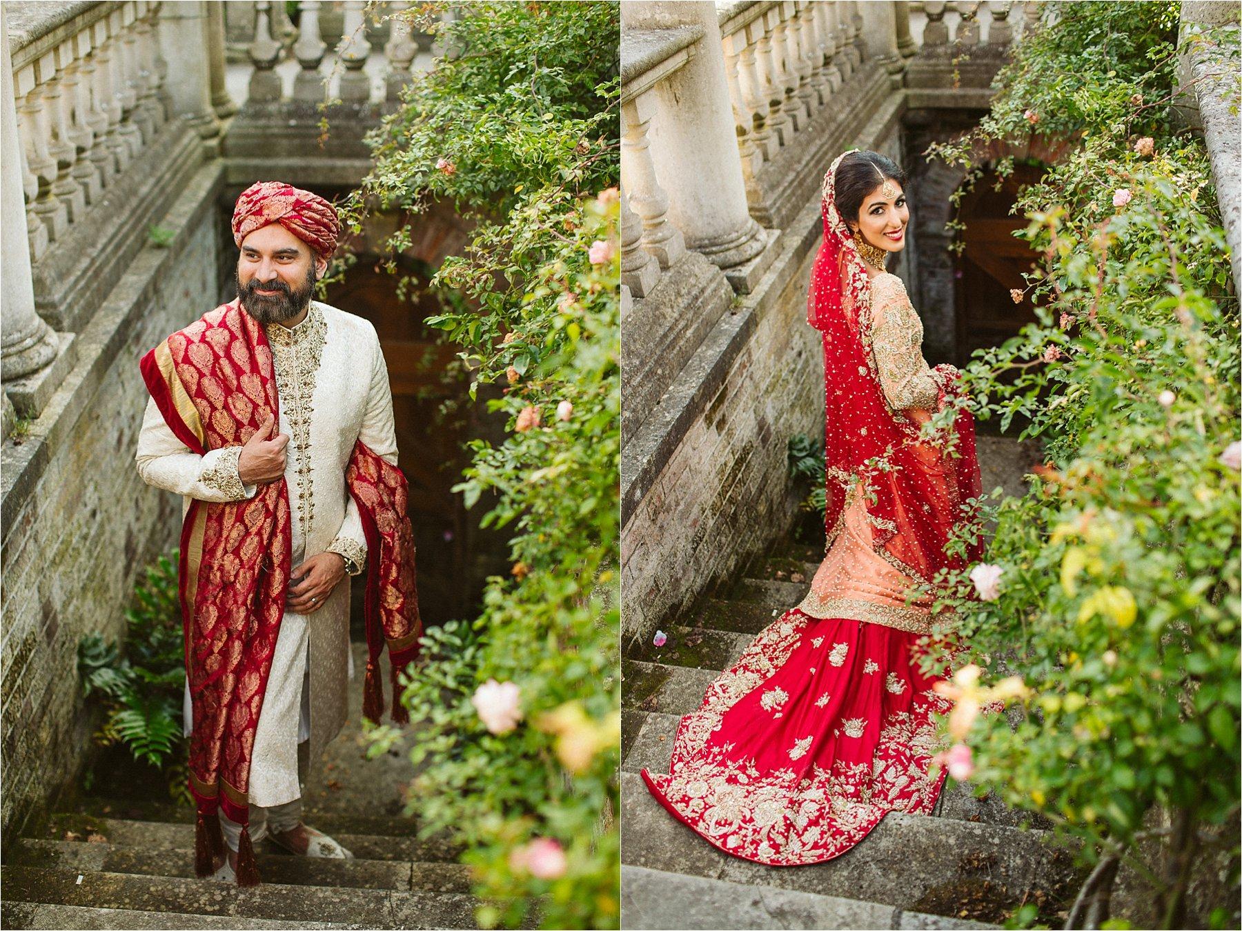 Hampstead Heath pergola wedding photo shoot