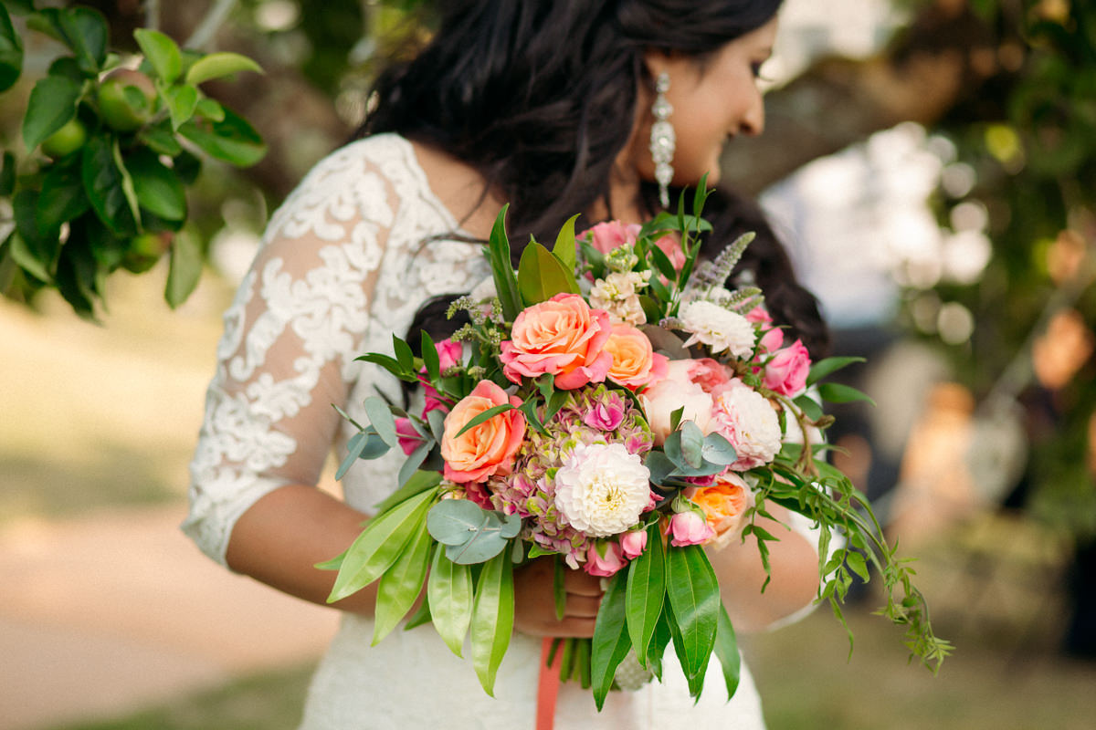 bridal bouquet detail photography at hexton Manor Wedding
