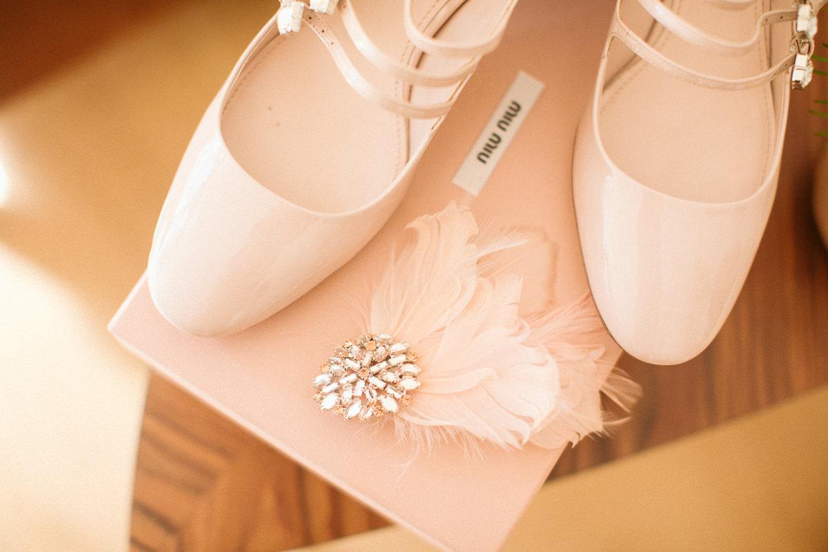miu miu wedding shoes at ain islington town hall wedding
