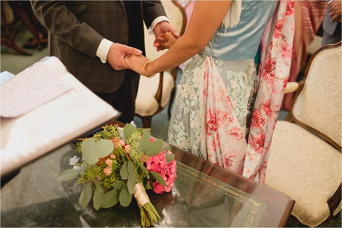 Documantary Asian Wedding Photography at Chelsea Old Town Hall