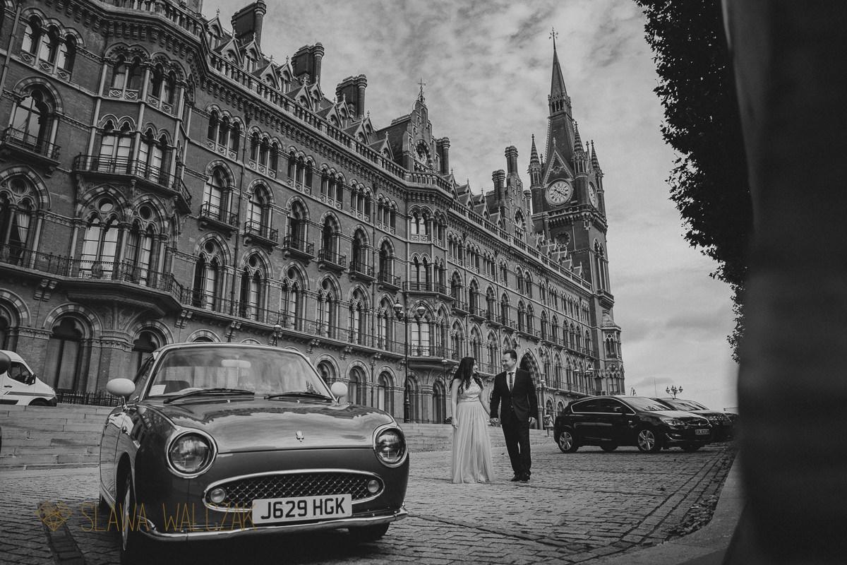 St Pancras London Hotel wedding photography