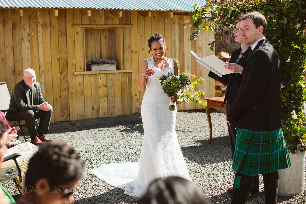Cockdurno Farm Wedding Photography Edinburgh Scotland