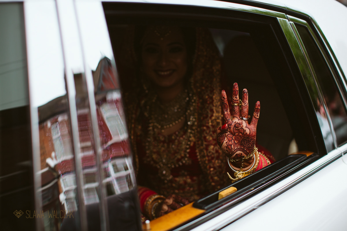 Vidai at Sikh Indian Wedding in East London