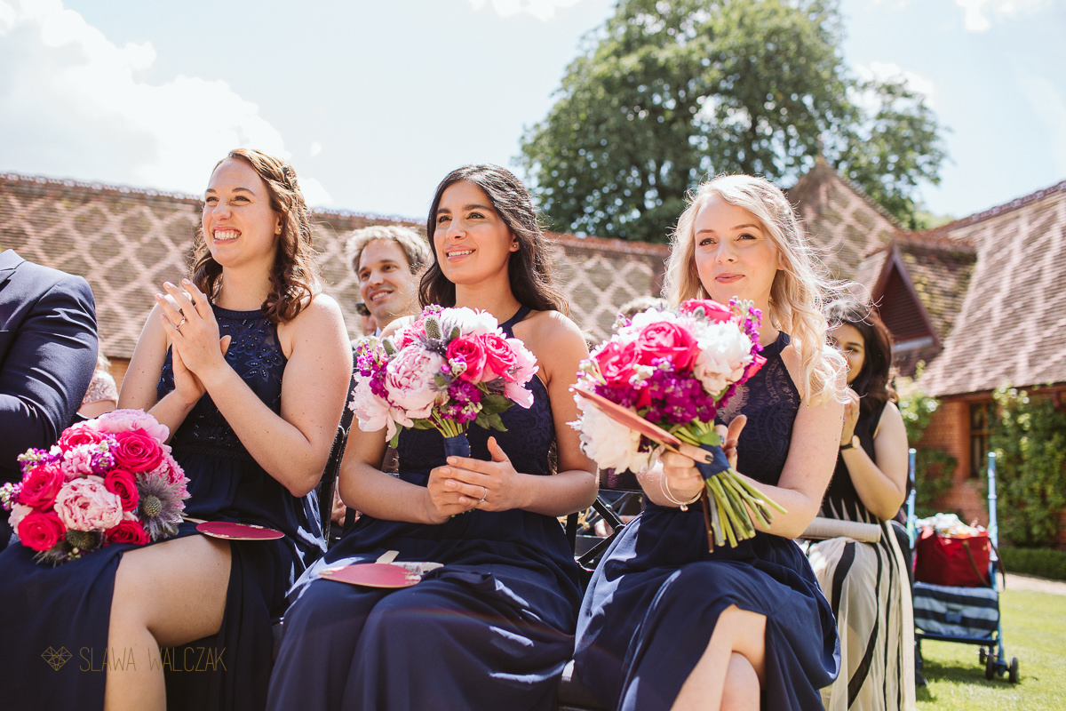 natural and relaxed wedding photography at the Dairy Maddesdon Manor