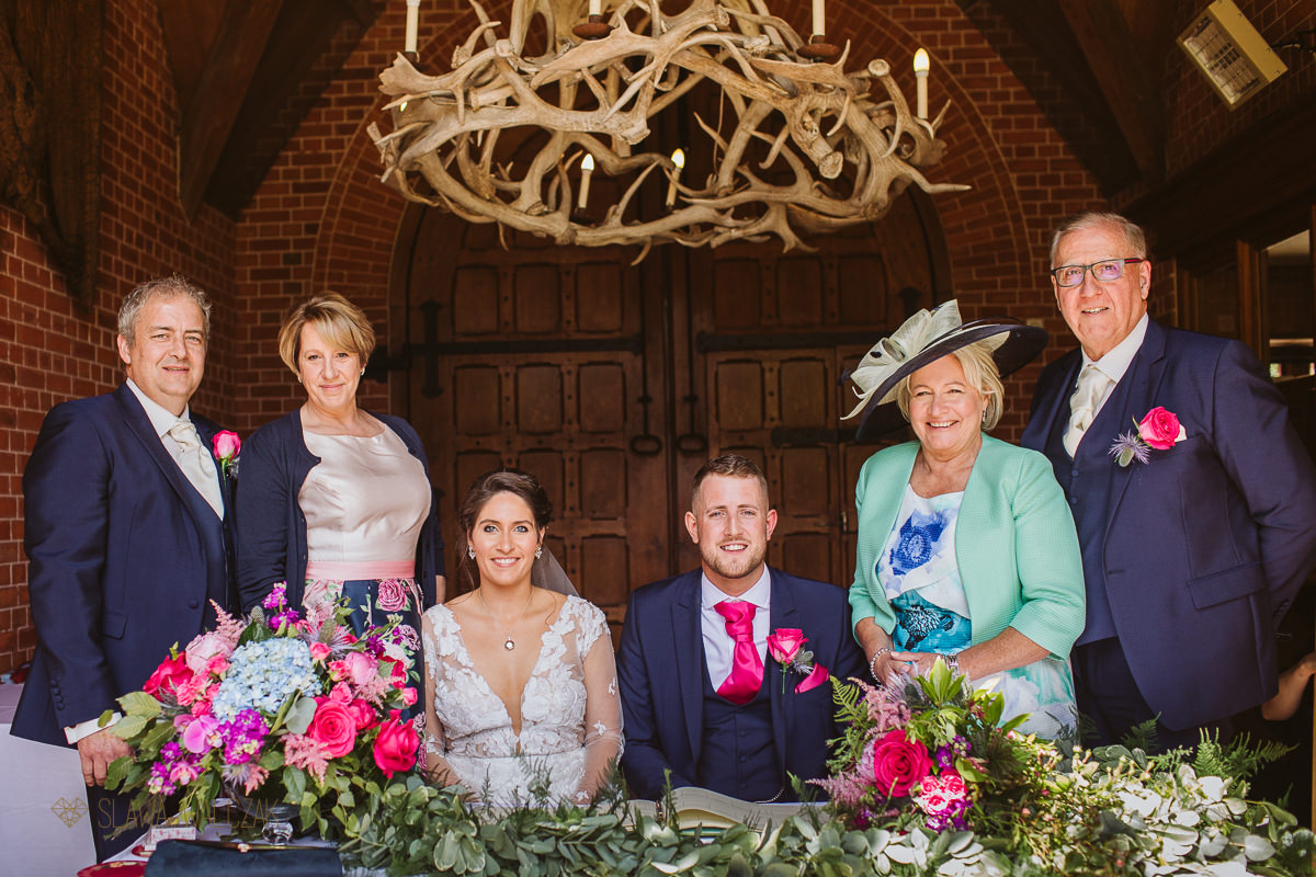 The Dairy at Weddesdon Manor Wedding Photography
