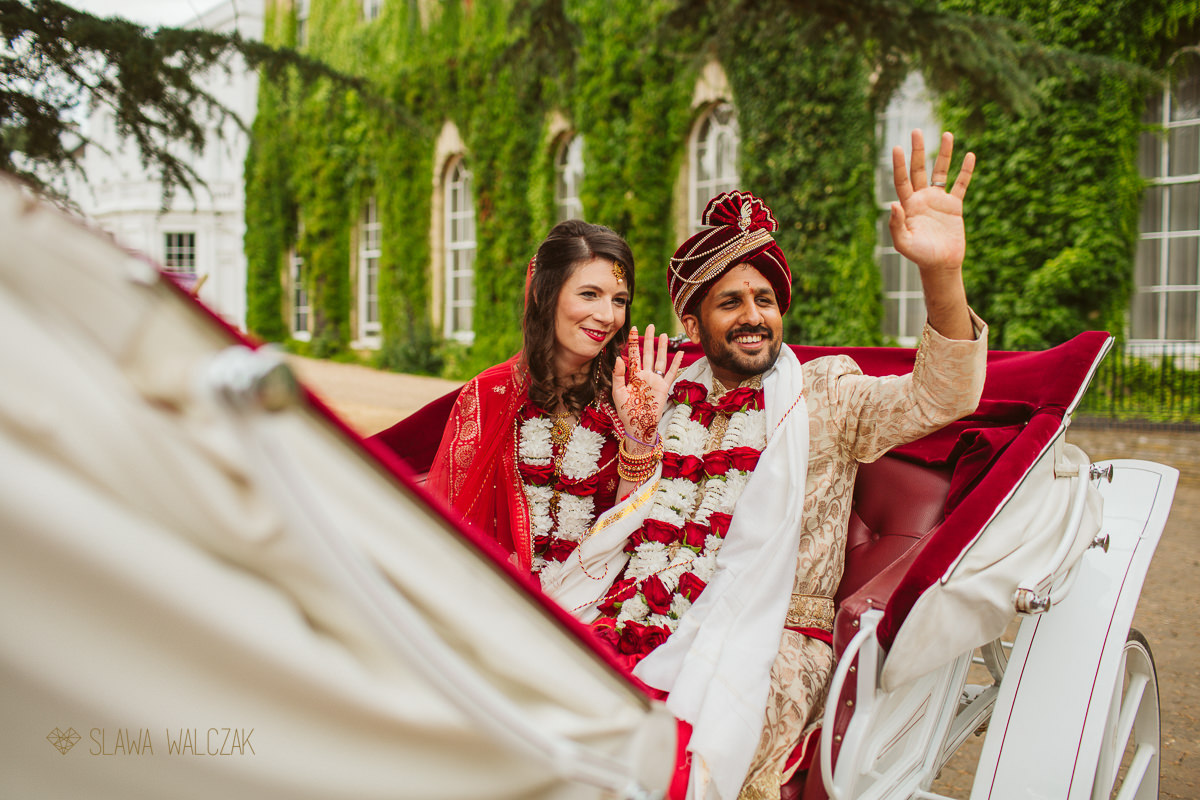 couple faraway at an Indian Wedding in Windsor