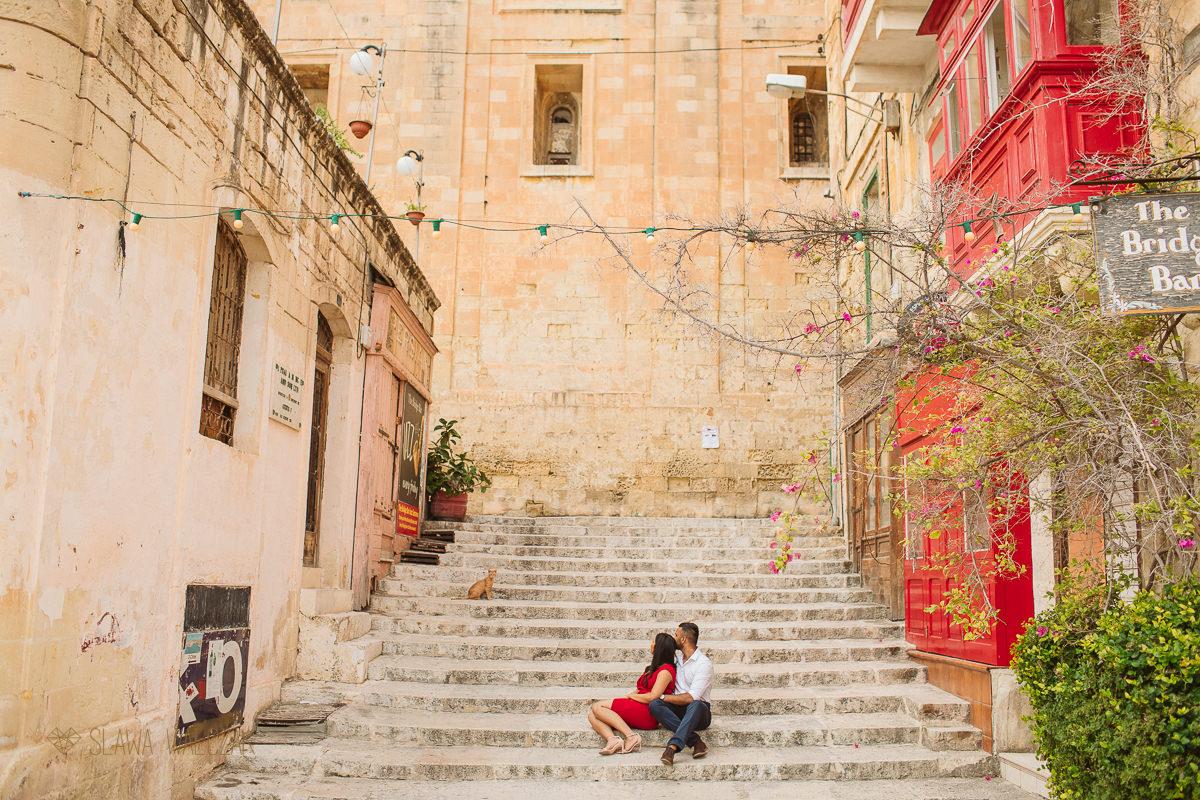 wedding and engagement photos from Valletta Malta