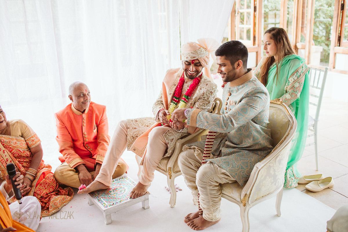 Hindu Wedding ceremony at Castello Zammitello Malta