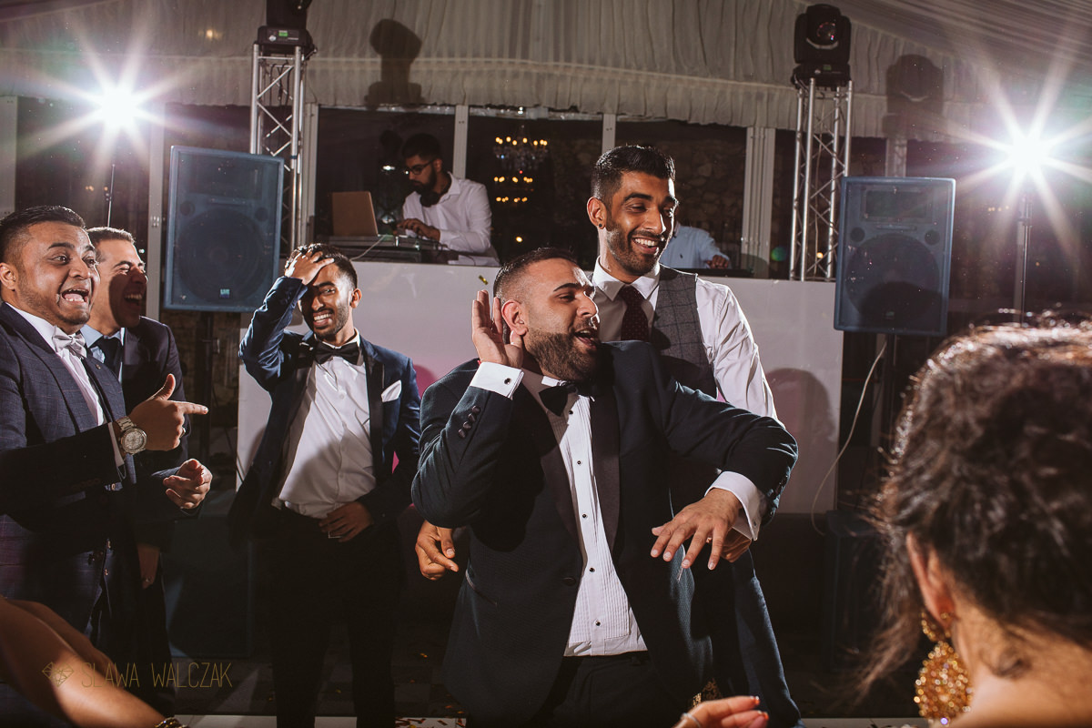 Indian Wedding Reception Photography at Castello Zammitello Malta
