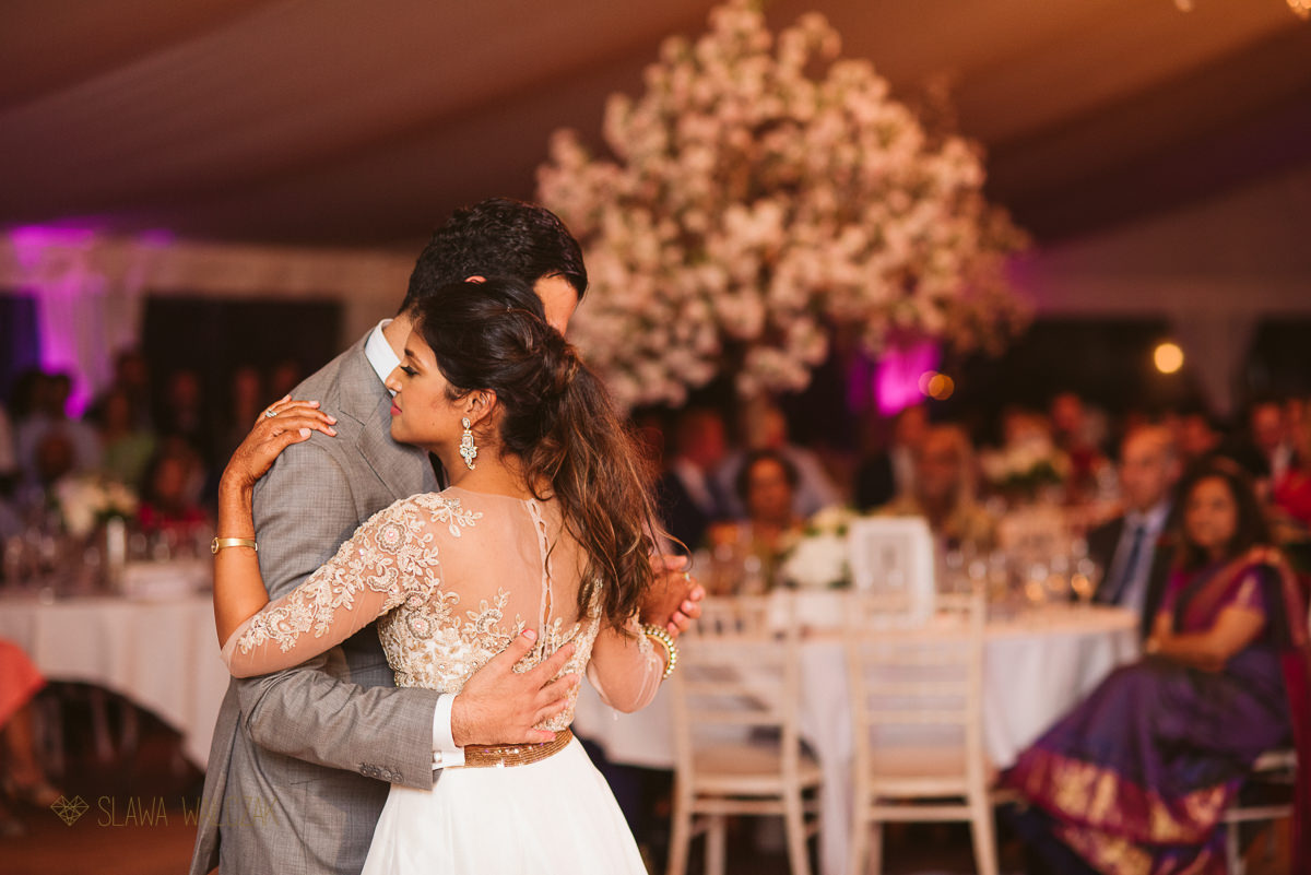 First Dance at an Asian Wedding in Chiswick House