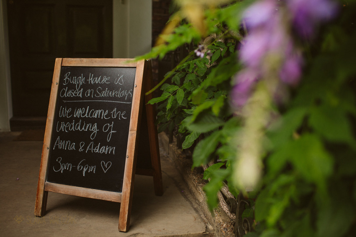Boho Wedding at Burgh House
