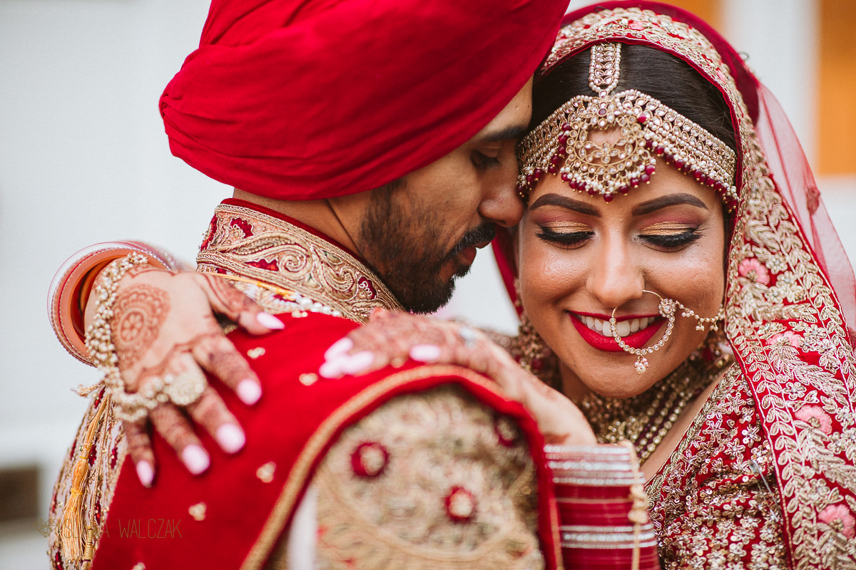 Asian Sikh Couple photoshoot in Notting Hill London