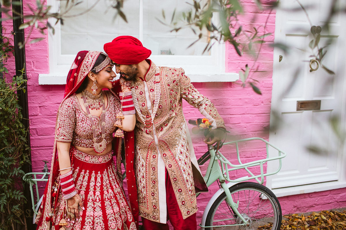 creative Sikh Wedding Photographer London