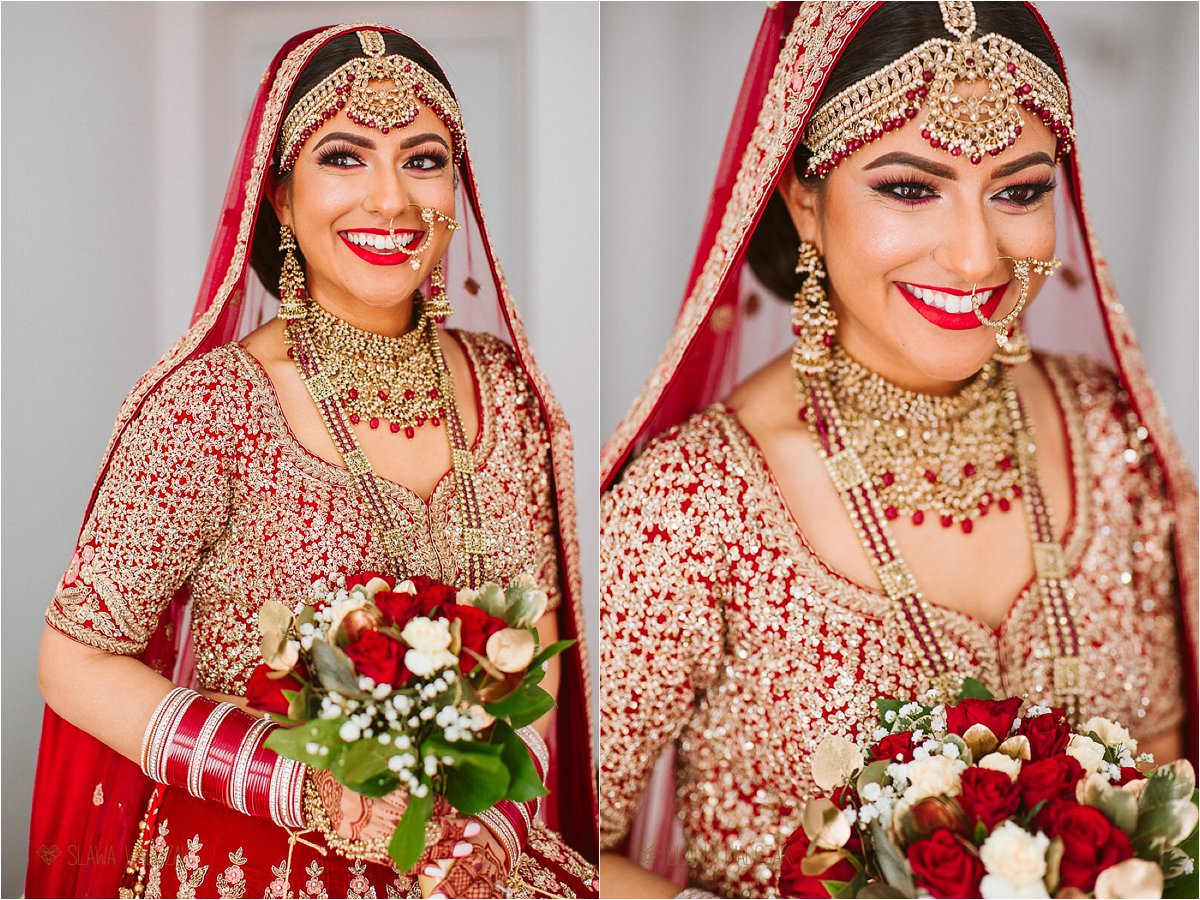 natural light sikh bridal portaits