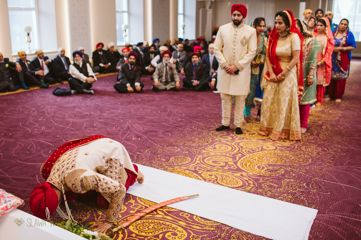 Shepherd's Bush Central Gurdwra Wedding Photography