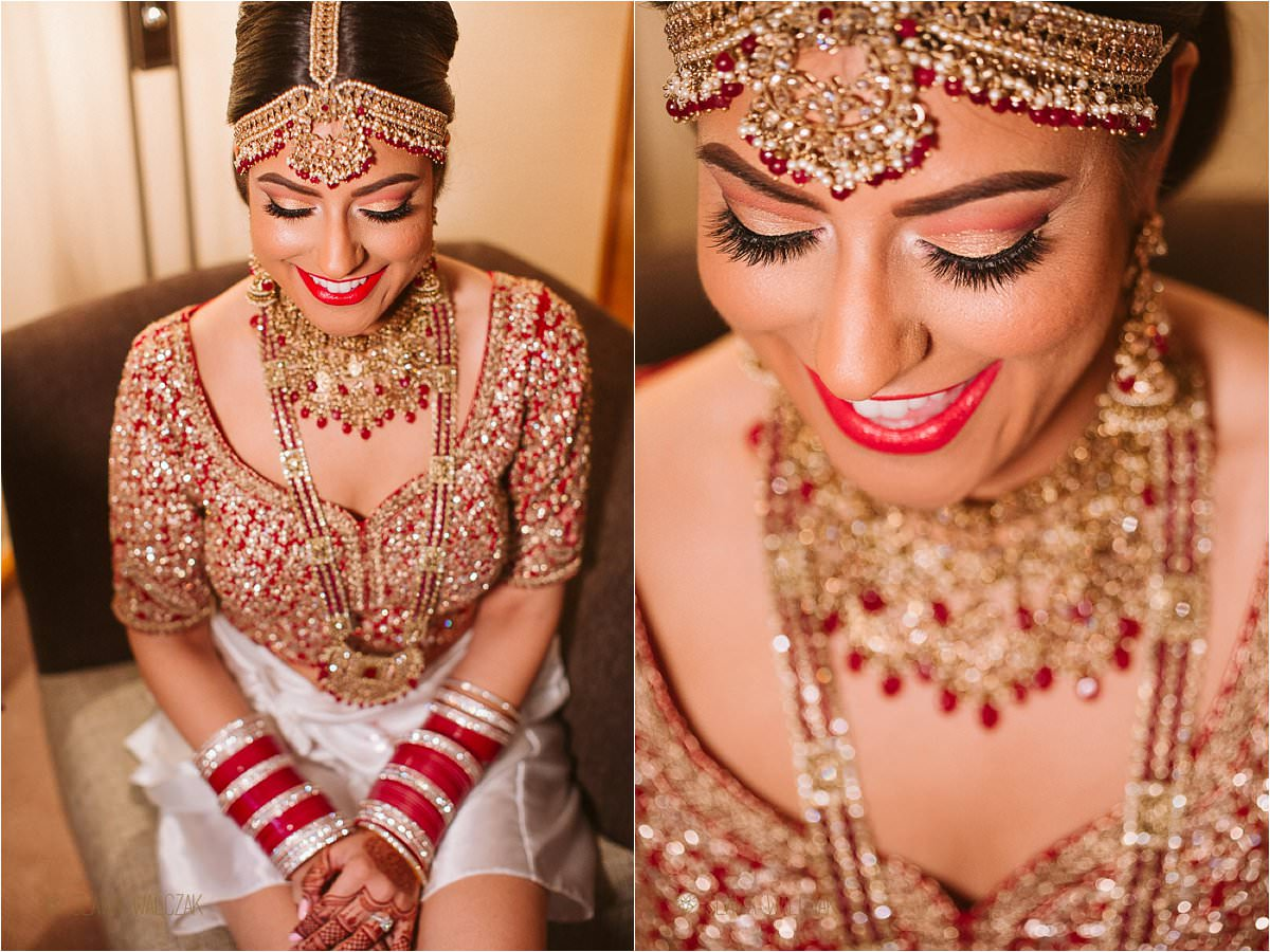 Sikh Bride wedding preparations
