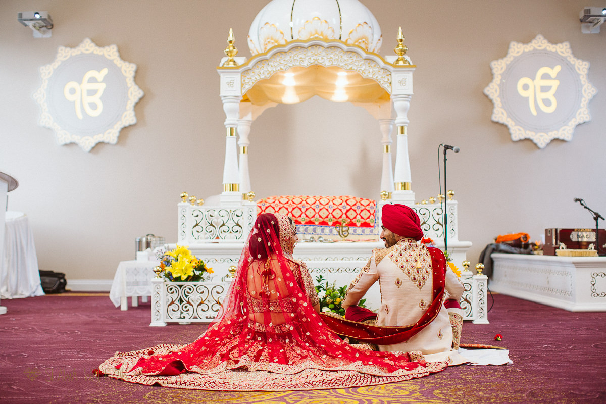 Shepherds Bush central Gurdwara Wedding photography