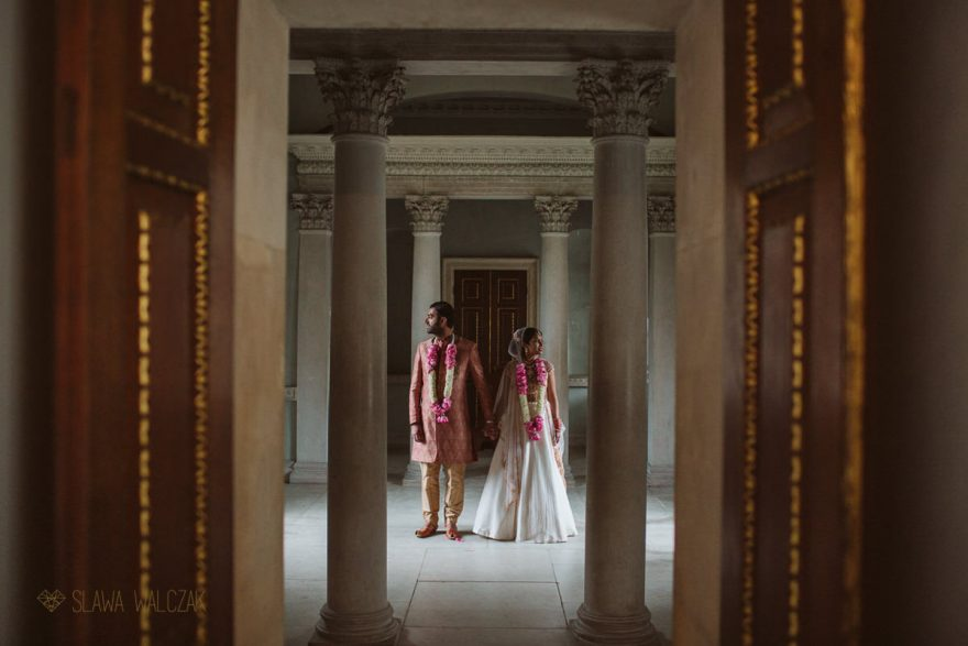 Luxury and elegant wedding photos of a London Asian Couple