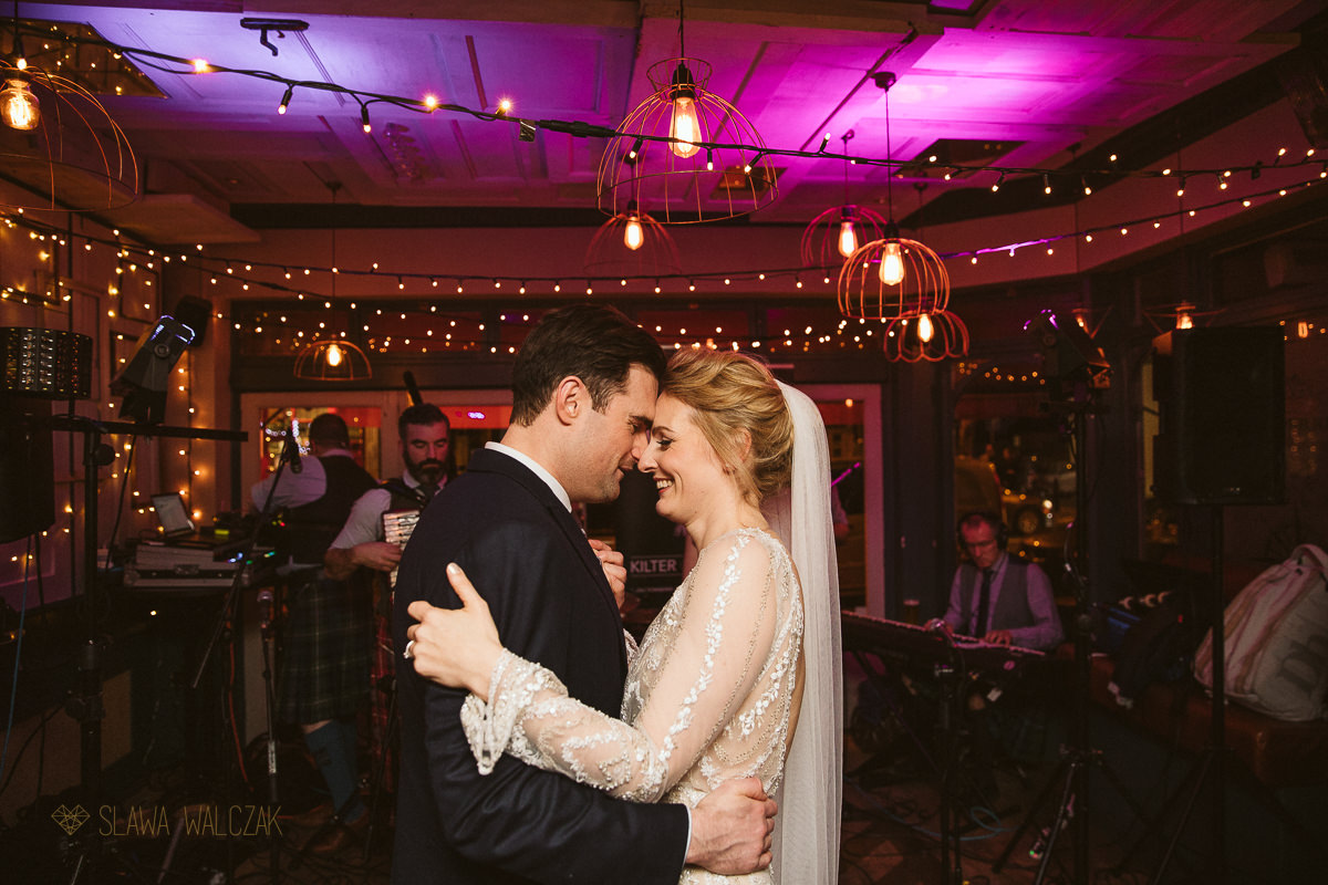 first dance photos at Powderkeg Pub Wedding