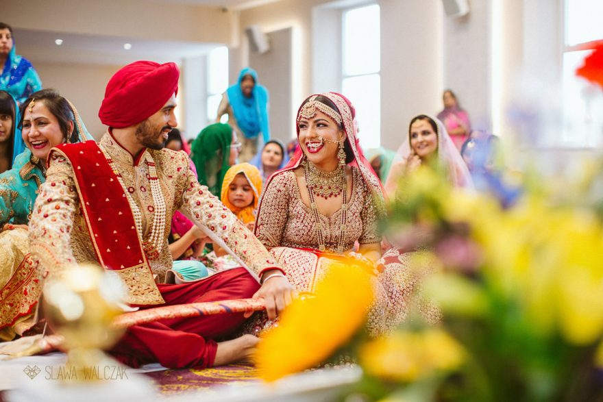 Ducumentary photo from a Skih Indian Wedding in London