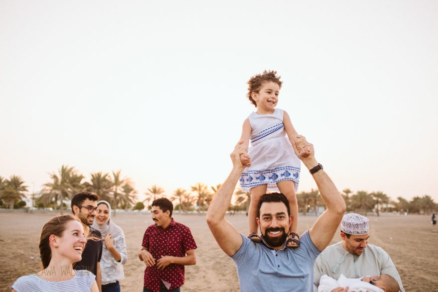 lifestyle family photo session in Muscat Oman