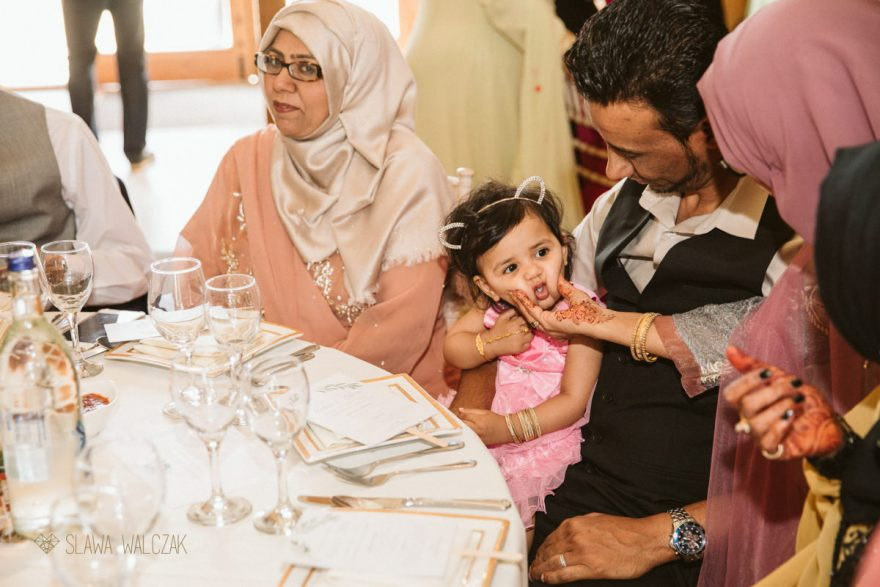 speeches at a Asian Muslim Wedding Photography at Micklefield Hall in Rickmansworth