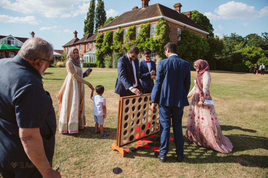 Documentary wedding photography at Micklefield Hall in Rickmansworth