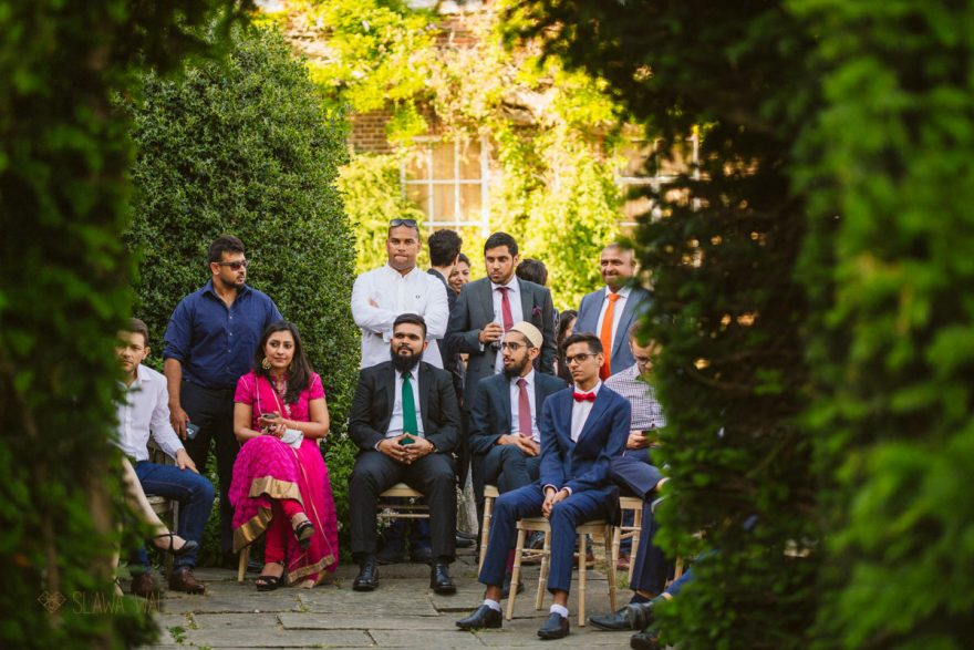 asian muslim wedding at the Micklefield Hall