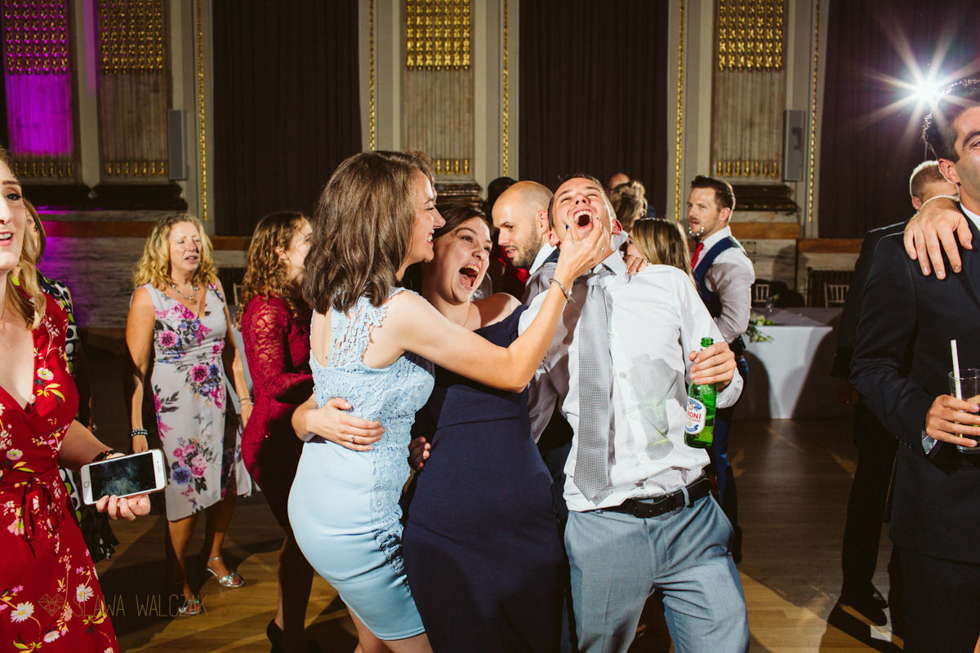 dance floor photos at a wedding in One Great George Street