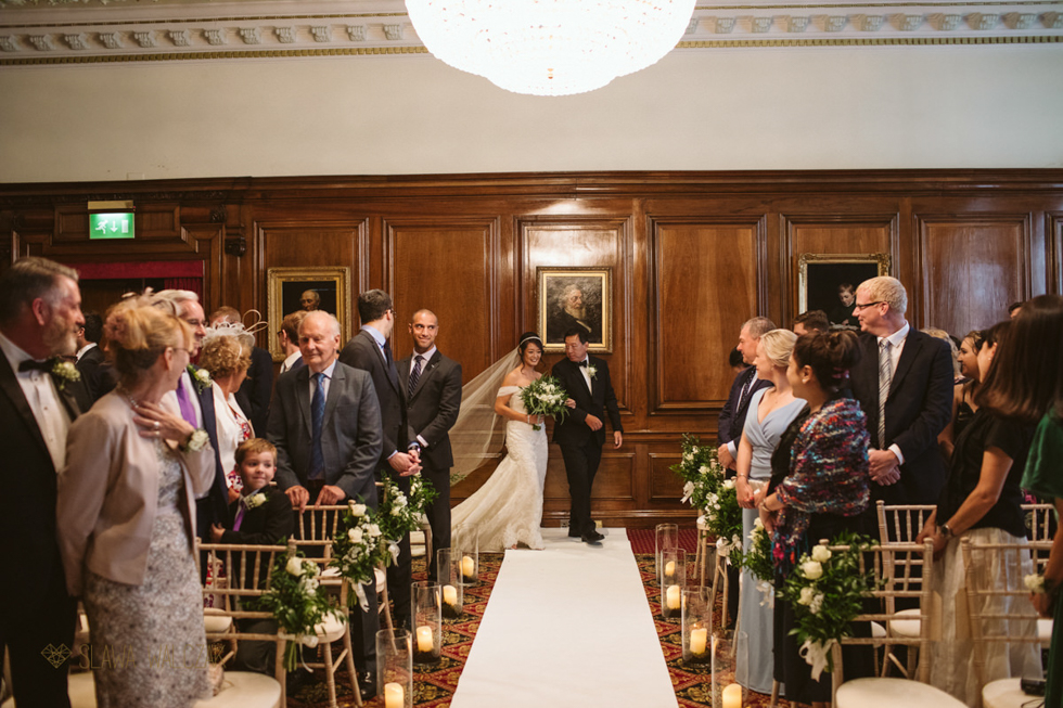 Luxury Civil Wedding Photography at One Great George Street