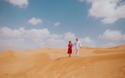 Wahiba Sands Oman Family Engagement Wedding Photography