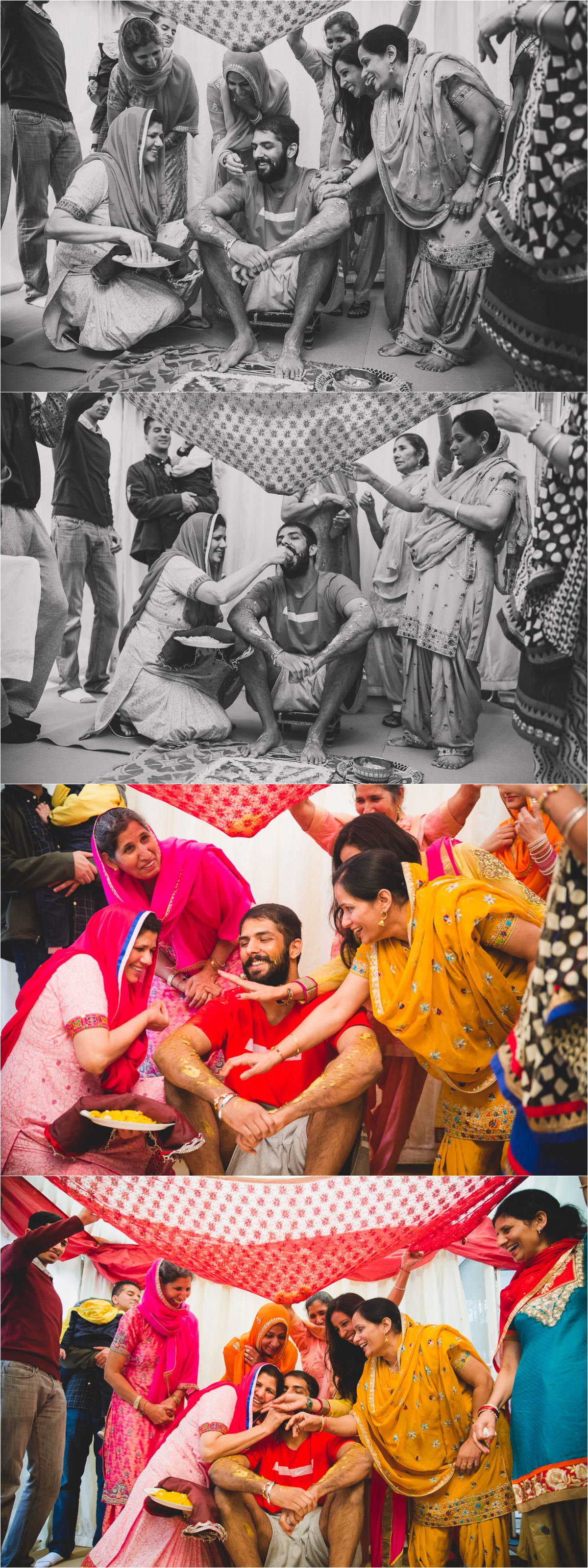 Sikh Maiyan Ceremony Indian London Wedding Photographer