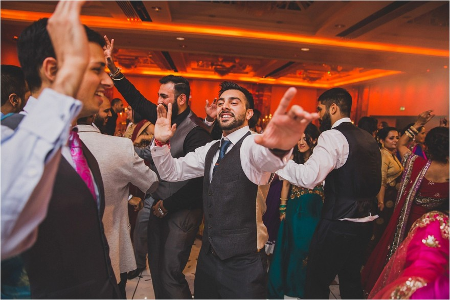 sikh wedding reception and party at Lancaster Hotel London