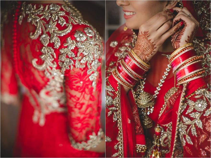 sikh wedding detail photo from southall gurwara